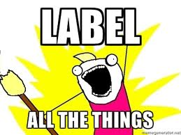 label all the things